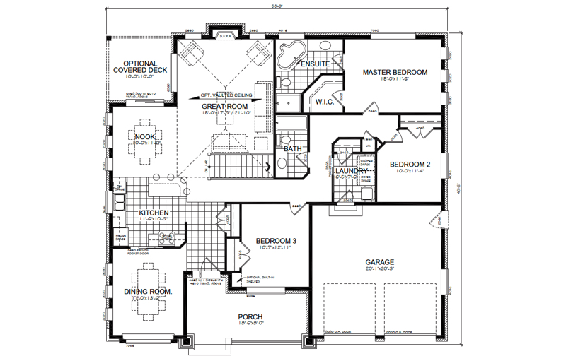 The Autumn Ridge Floor Plan