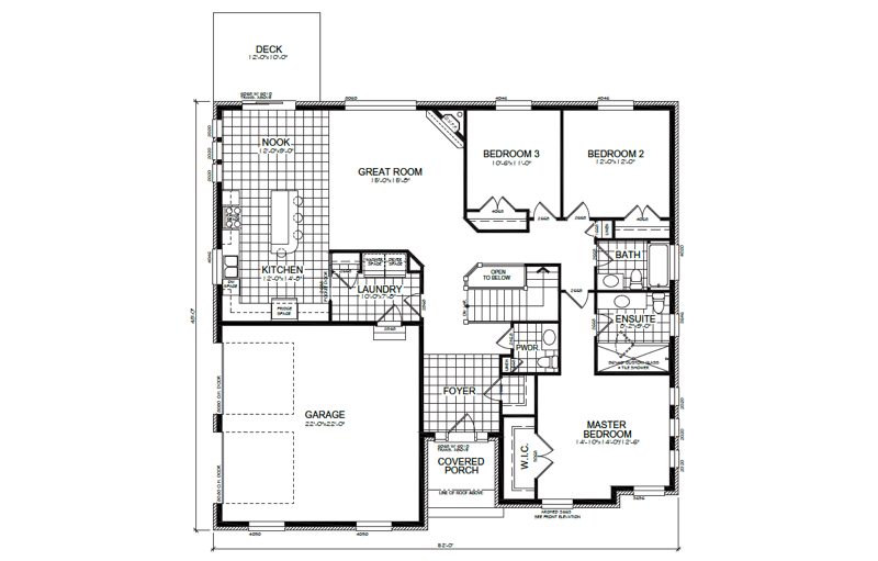 The Stone Point Floor Plan