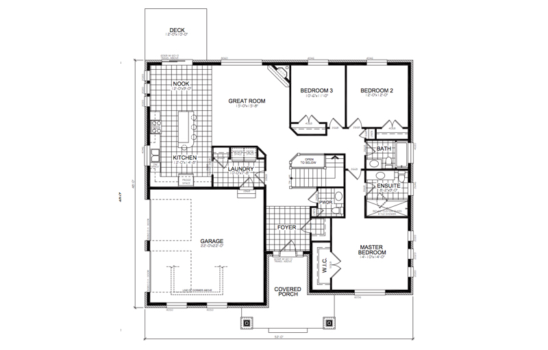 The Stone Point II Floor Plan