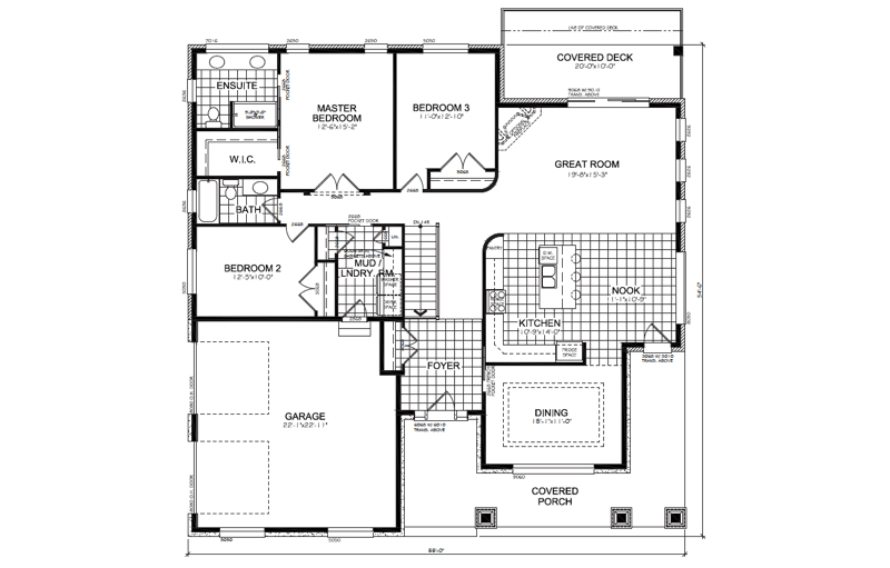 The Trillium Floor Plan