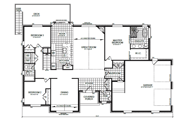The Willowbrook II Floor Plan
