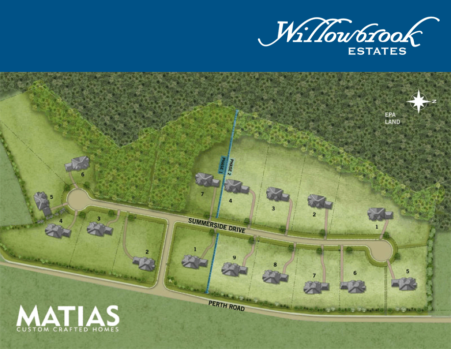 Willowbrook Estates Site Plan